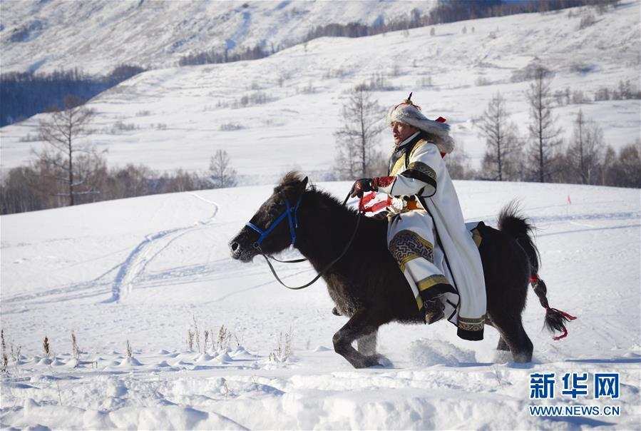 (社会)(5)新疆举行首届禾木国际泼雪节