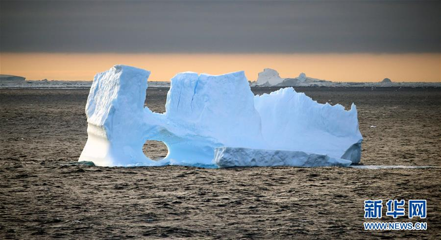 (第34次南极科考)(1)南极风光·壮美冰山
