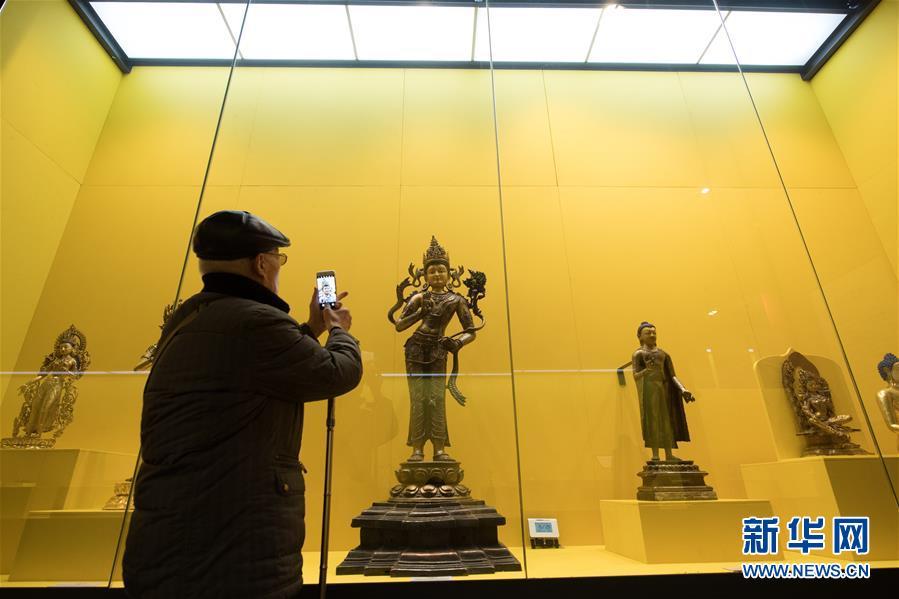 (文化)(6)西藏文物珍品亮相西子湖畔