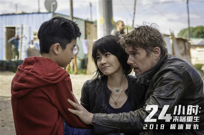 《24小时:末路重生》许晴化身动作女星 新片上映逢生日成庆生礼