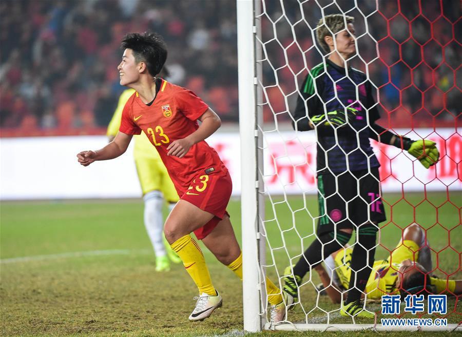 (体育)(4)足球――国际女足锦标赛:中国队夺冠