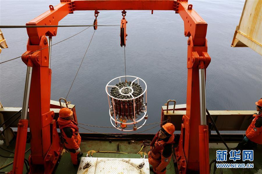 (图文互动)(3)中国在南极罗斯海开展海洋立体调查