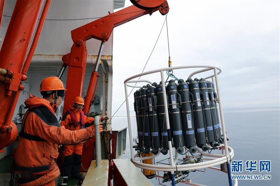 (图文互动)(2)中国在南极罗斯海开展海洋立体调查