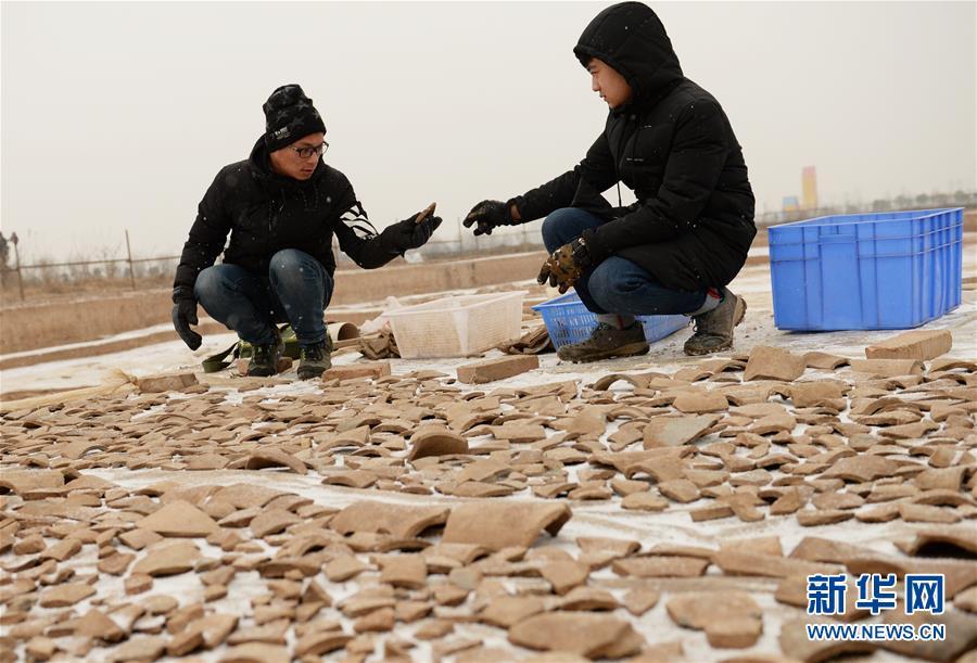 (文化)(5)陕西首次发现秦代大型国家府库遗址