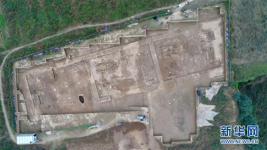 (文化)(4)陕西首次发现秦代大型国家府库遗址