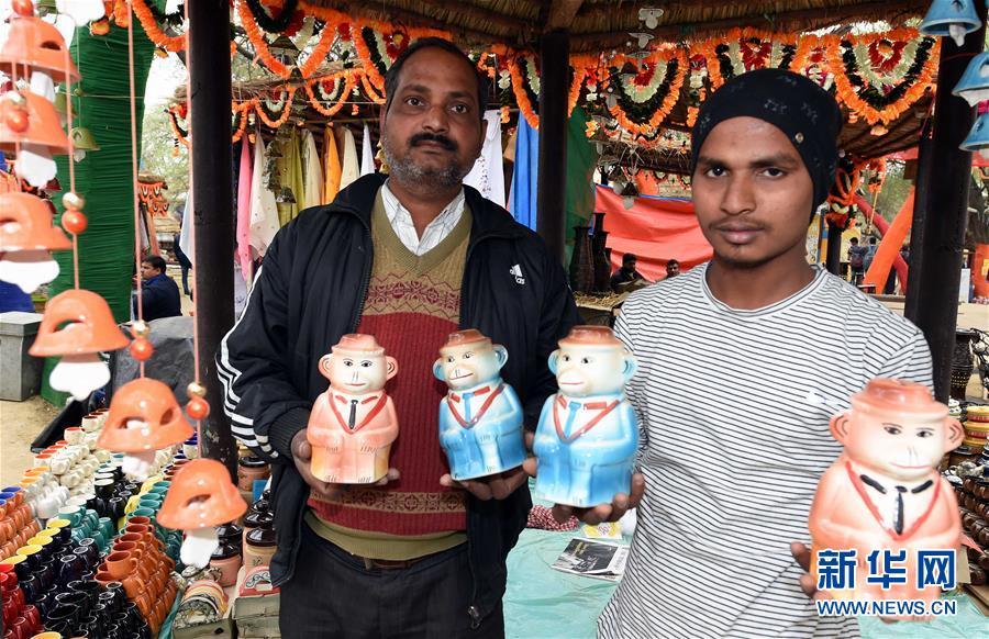 (XHDW)(1)印度举办第32届国际手工艺制品展览会