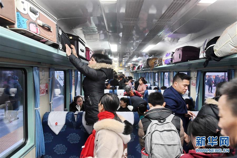 (新春走基层)(2)K46次列车的春运旅程