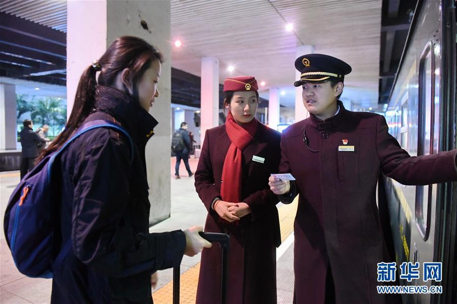 (新春走基层)(3)K46次列车的春运旅程