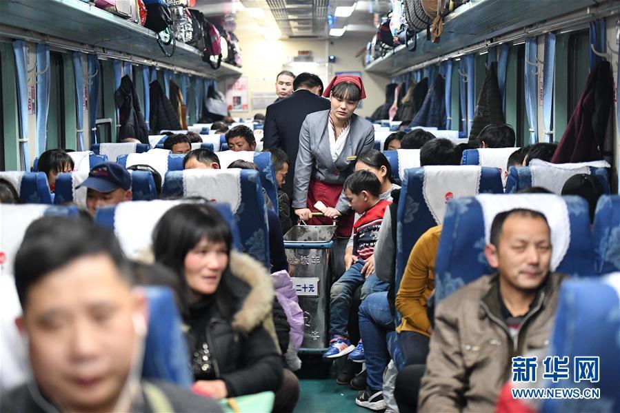 (新春走基层)(5)K46次列车的春运旅程