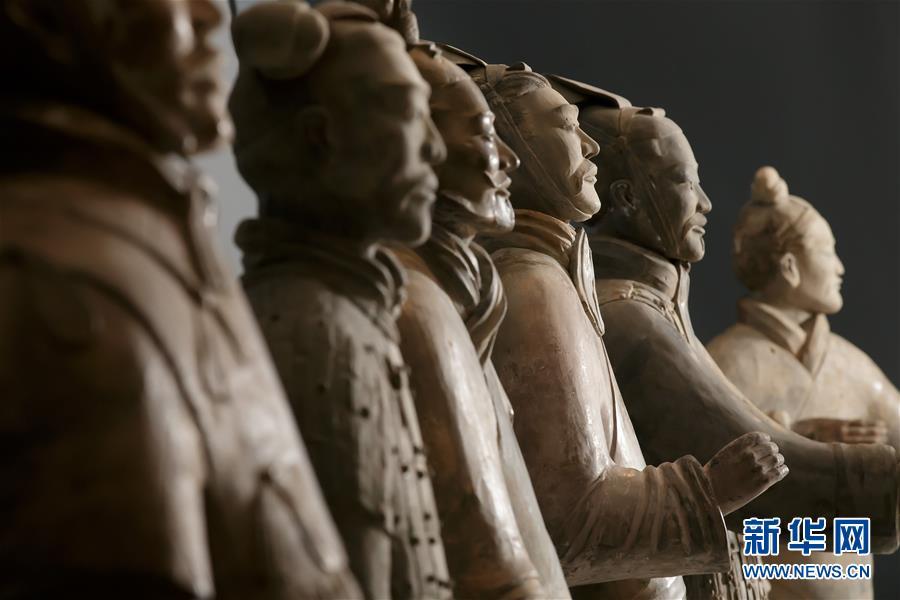 (国际)(4)秦始皇兵马俑大型特展在利物浦举行