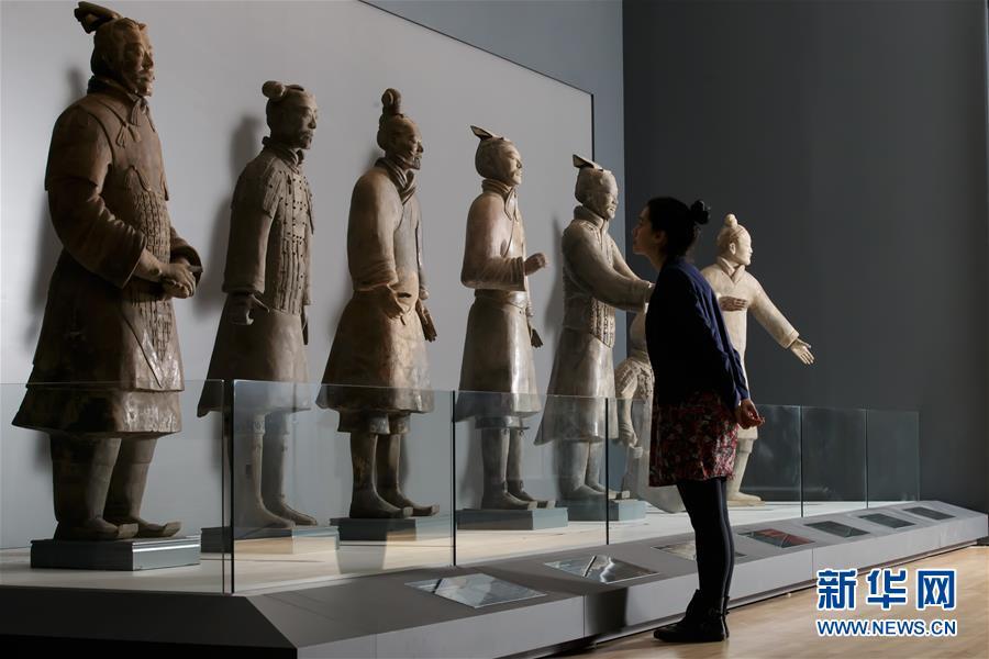 (国际)(3)秦始皇兵马俑大型特展在利物浦举行