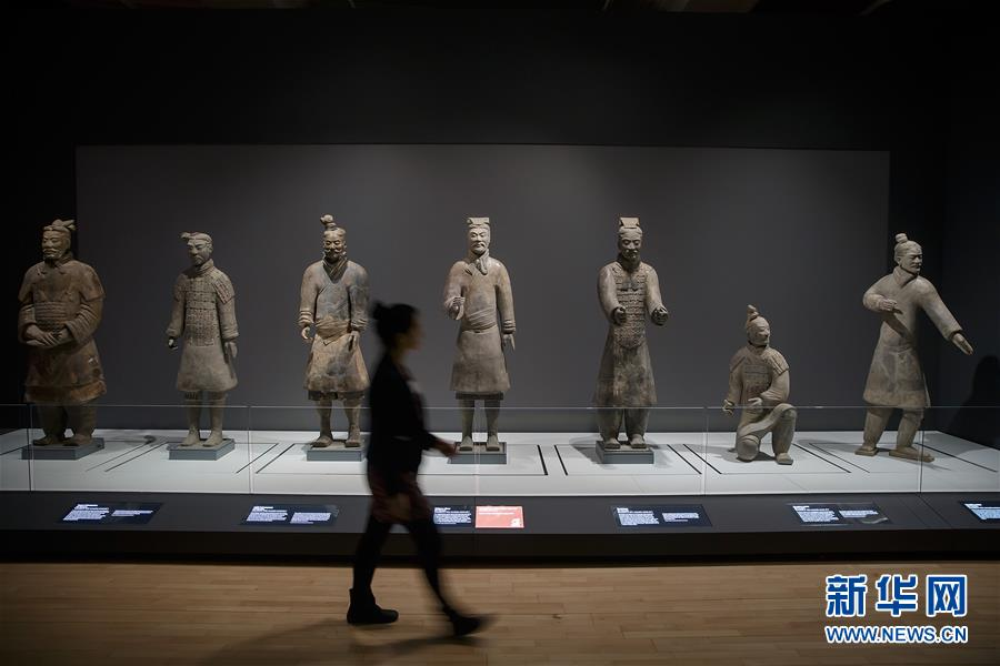 (国际)(1)秦始皇兵马俑大型特展在利物浦举行
