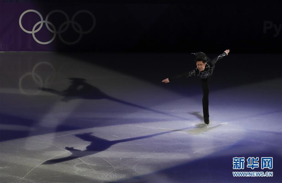 (冬奥会)(11)花样滑冰――平昌冬奥会举行花样滑冰表演