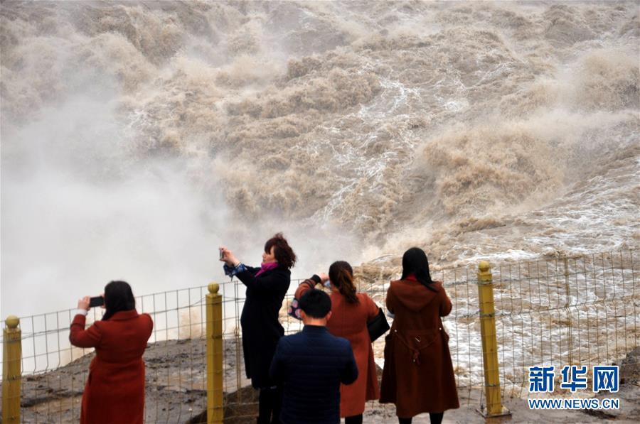 #(环境)(3)黄河壶口瀑布水量增大