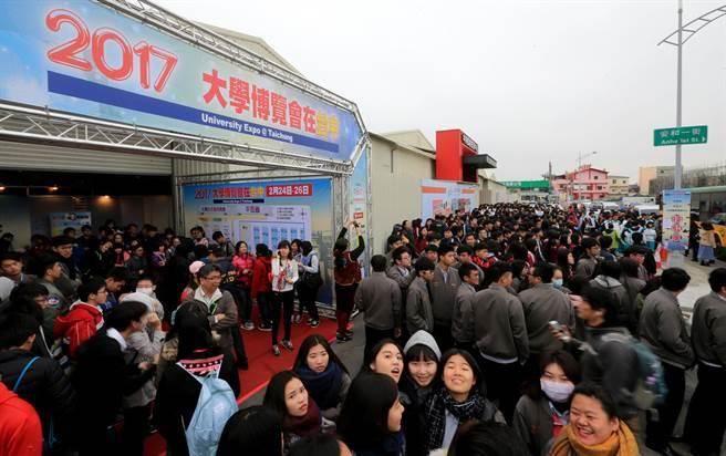 台湾学测顶标生申请赴大陆求学人数暴增6倍
