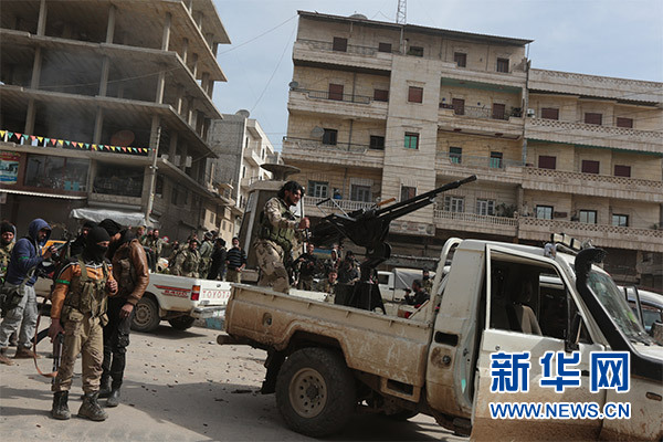 土耳其称已控制叙利亚阿夫林市中心