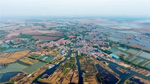 河北雄安新区白洋淀内的村庄。材料图片.jpg
