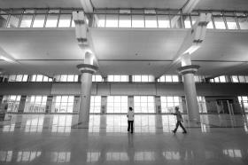 长沙黄花机场T1航站楼下月启用