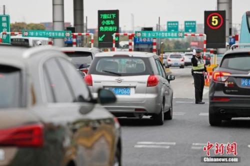 清明节假期中国道路交通总体平稳有序