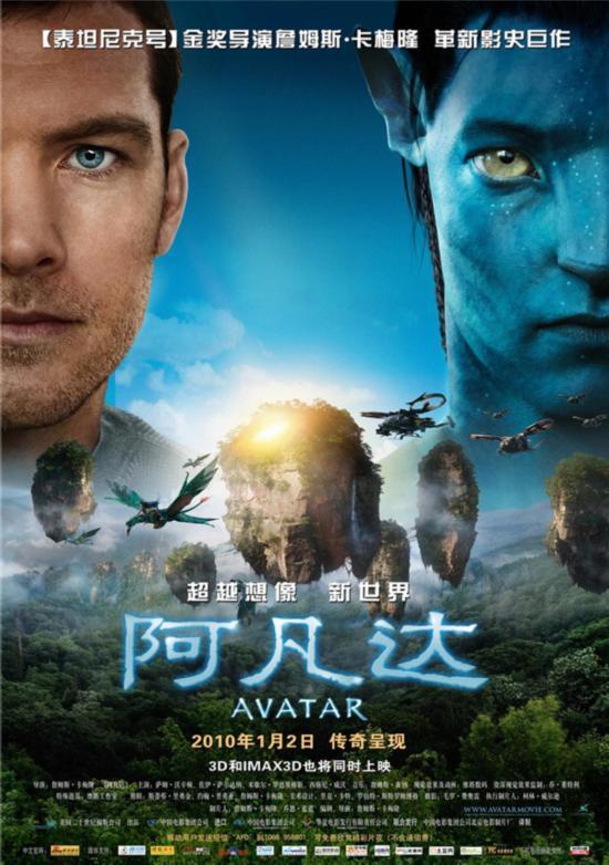 《阿凡达》亮相北京电影节 卡梅隆盖章《阿丽塔:战斗天使》