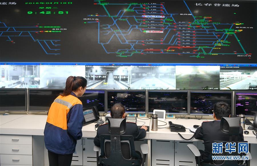 (经济)(1)4月10日起全国铁路实行新列车运行图