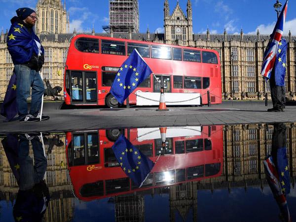"""欧盟统计局:2016公投年越来越多英国人想成为""""外国人"""""""