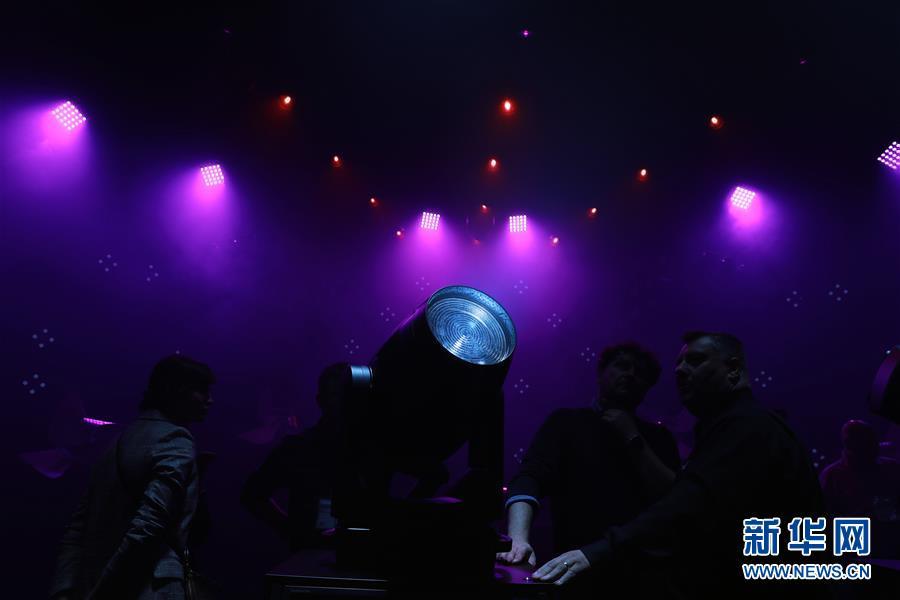 德国法兰克福舞台灯光及音响技术展会开幕