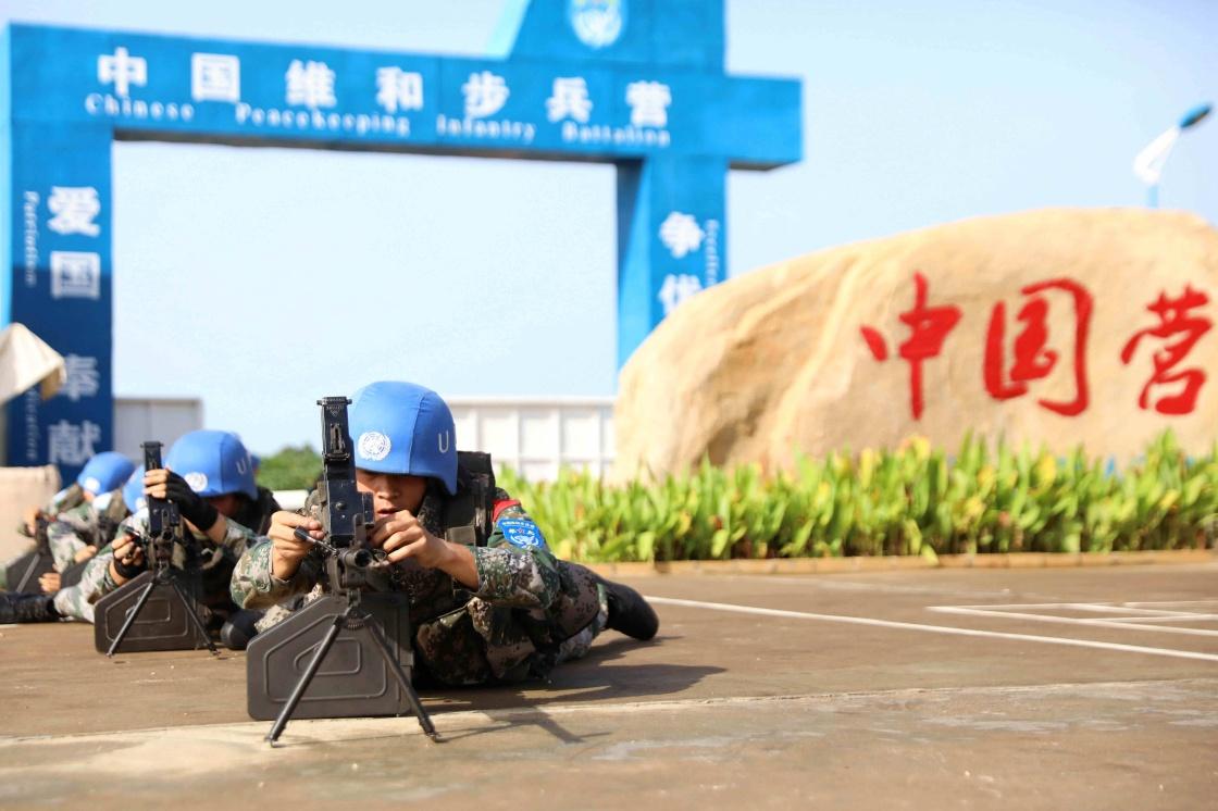 国际劳动节——坚守岗位的南苏丹中国维和战士
