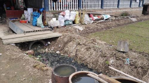 前门生态农庄,后门污水直排!农家乐成污染监管盲区