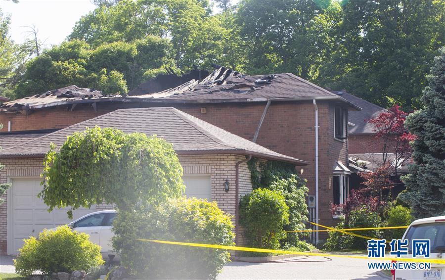 加拿大一起火灾致中国留学生1死3伤   调查火灾原因