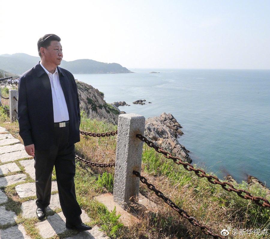 习近平:建设海洋强国,我一直有这样一个信念
