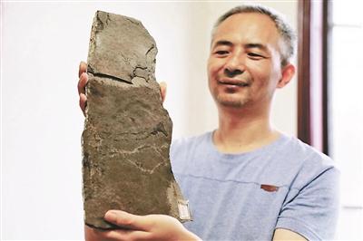中美科学家在三峡地区发现世界最早动物足迹化石