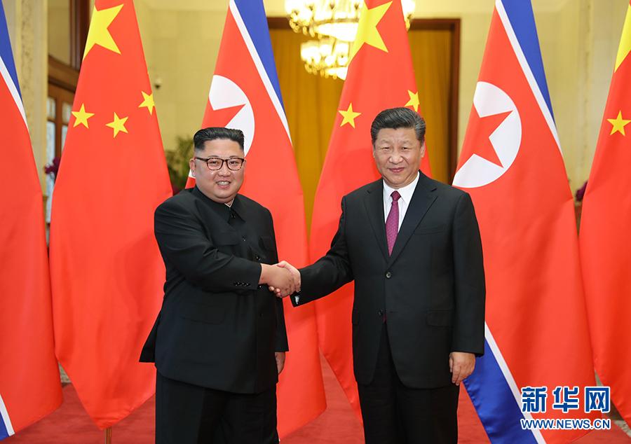 大奖娱乐_习近平同朝鲜劳动党委员长金正恩举行会谈