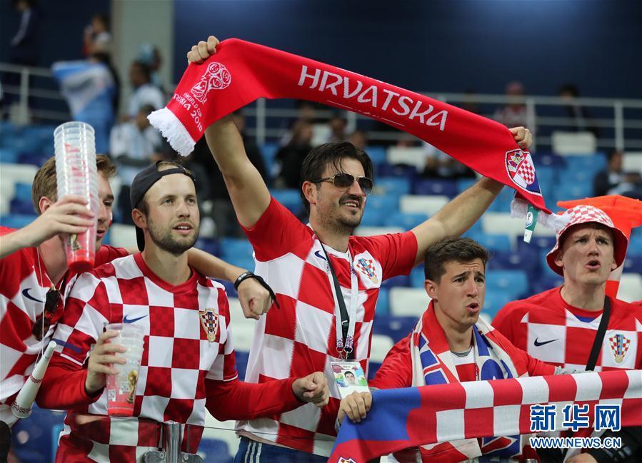 (世界杯)(26)足球——D組:克羅地亞隊擊敗阿根廷隊