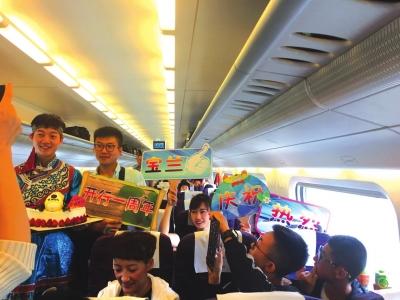 宝兰高铁运营 1周年运送旅客逾 1183万人次
