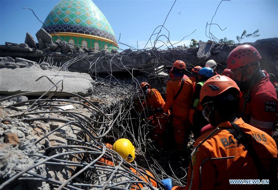 INDONESIA-LOMBOK ISLAND-EARTHQUAKE-AFTERMATH