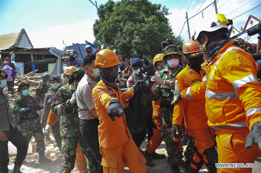 Death toll of Indonesia's deadly earthquake climbs to 347
