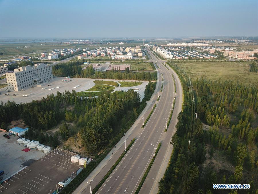 CHINA-INNER MONGOLIA-KUBUQI-DESERT CONTROL (CN)