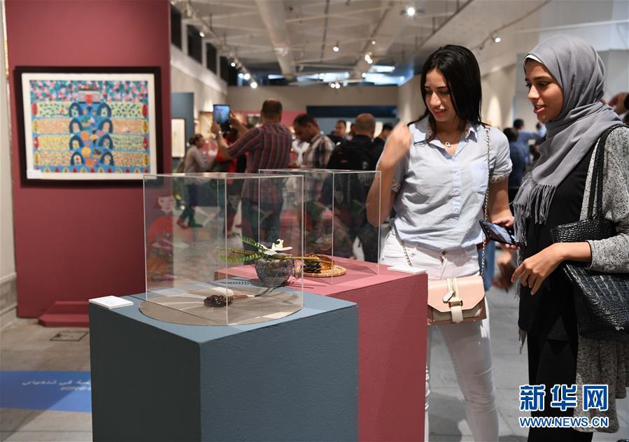 中国上海非遗展在埃及亚历山大举行