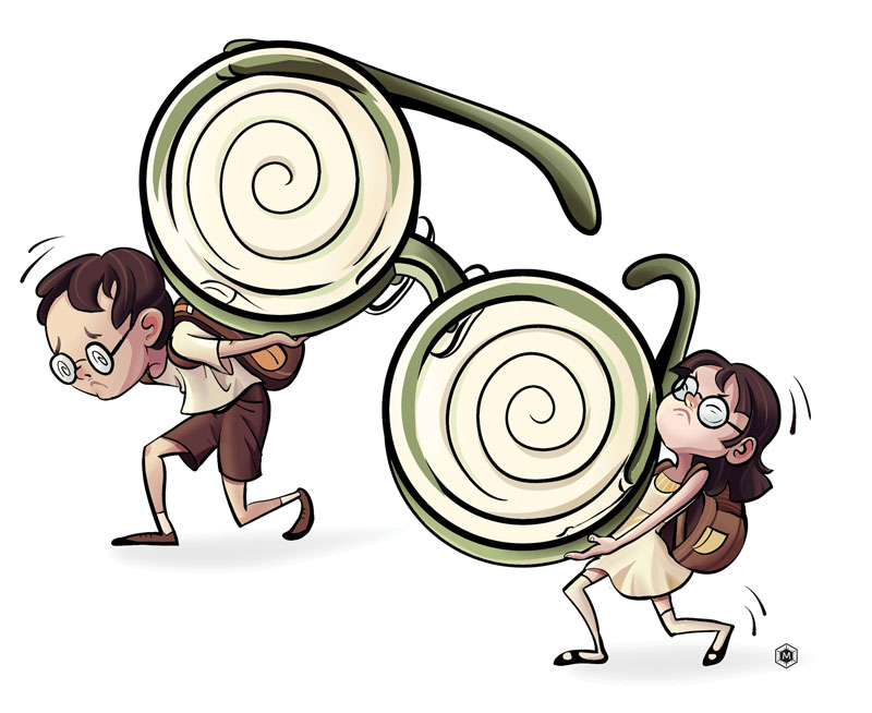 Education reform can solve myopia problem