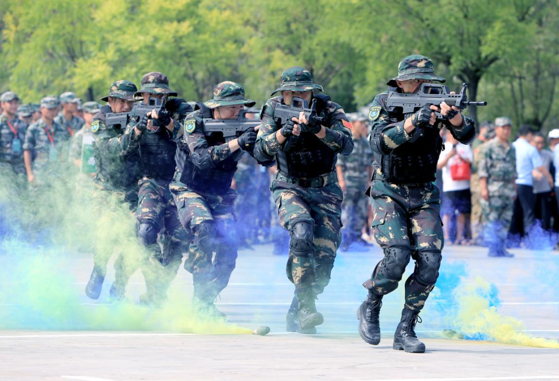 首届全国国防教育竞技大赛总决赛在山西武乡举办