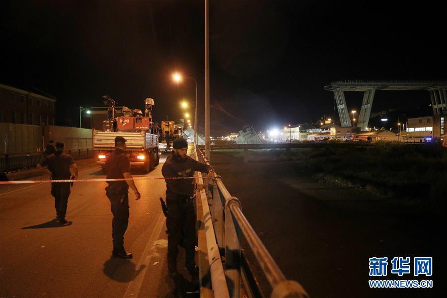 (國際)(7)意大利發生公路橋垮塌事故 至少20人死亡
