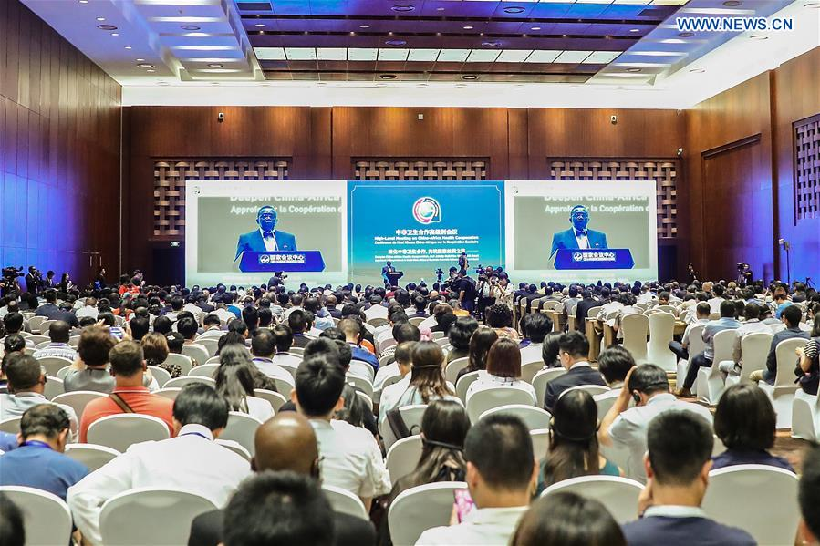 CHINA-AFRICA-HEALTH COOPERATION-MEETING (CN)