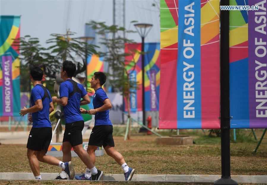 (SP)INDONESIA-JAKARTA-ASIAN GAMES-ASIAN GAMES VILLAGE