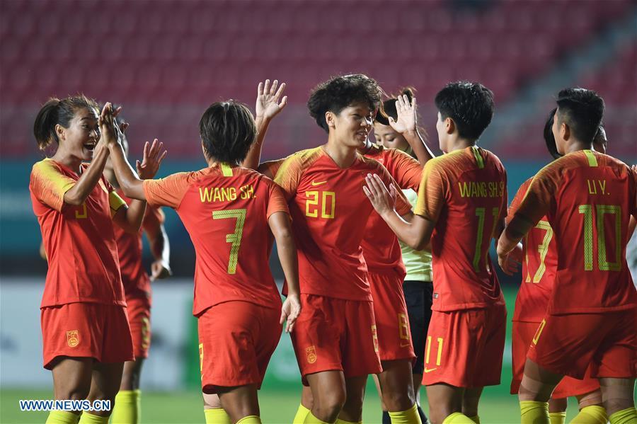 (SP)INDONESIA-PALEMBANG-ASIAN GAMES-WOMEN'S FOOTBALL