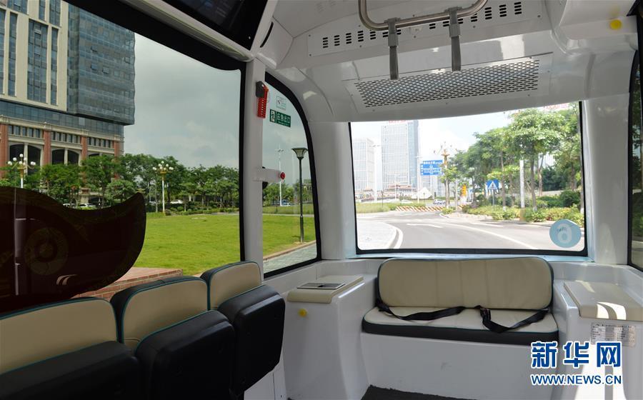 #(科技)(3)无人驾驶小型巴士亮相厦门