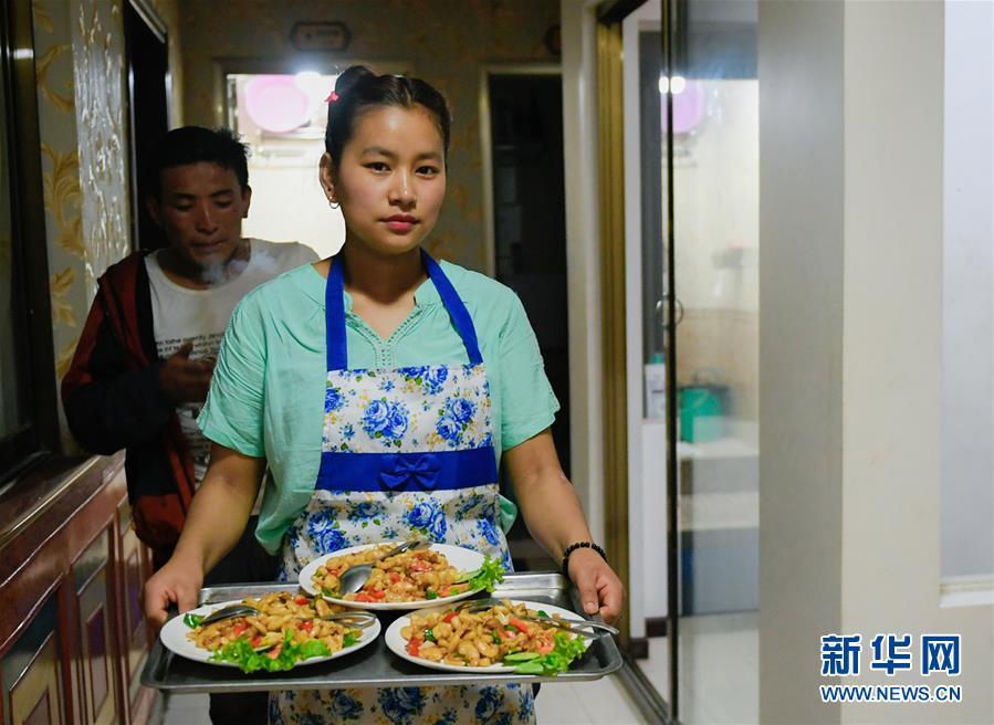 (XHDW·圖文互動)(1)尼泊爾家庭在中國邊境小鎮的新生活