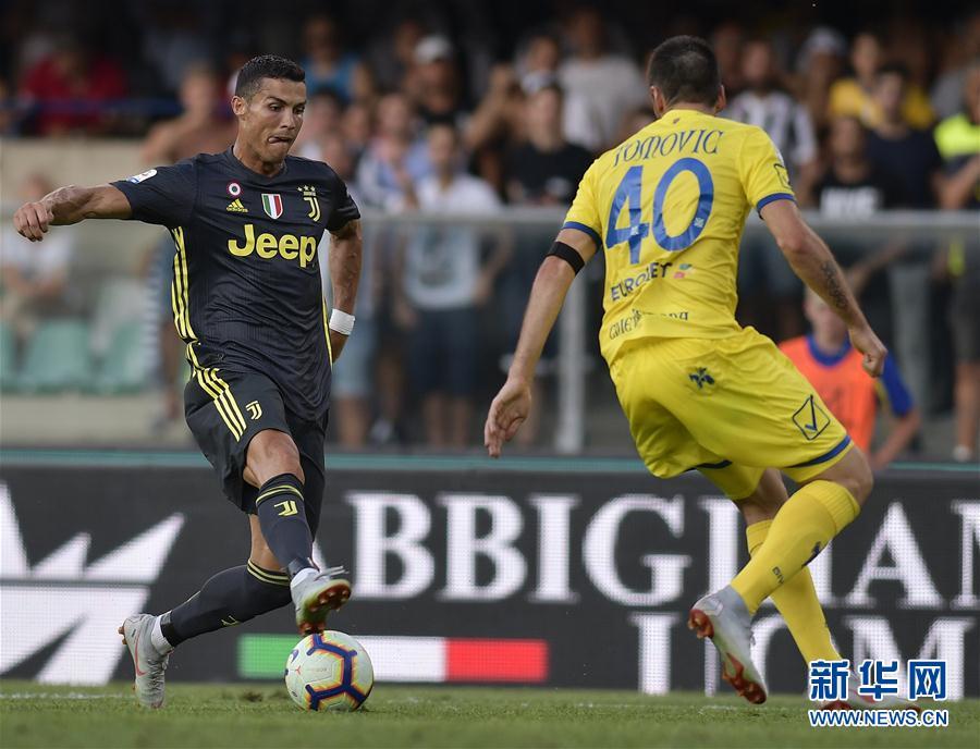 (体育)(2)足球--意甲:尤文图斯胜切沃