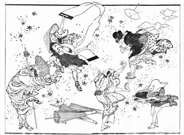 北斋漫画 日本现代漫画创作的鼻祖