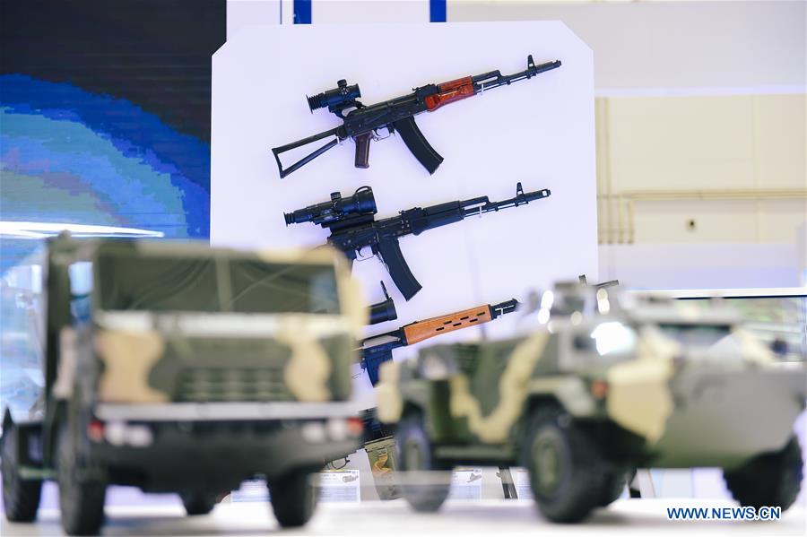 RUSSIA-MOSCOW-INTERNATIONAL MILITARY TECHNICAL FORUM